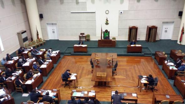 Vanuatu Special Sitting of Parliament, Thursday June 16, 2016. Photo: John Salong