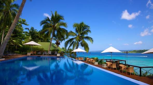 Iririki Island resort Port Vila Vanuatu